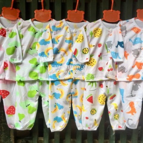 Quần áo trẻ em sơ sinh combo5 bộ