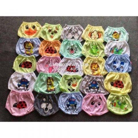 Quần chục cotton cho bé combo 10 quần