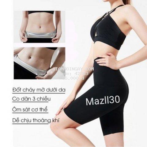 quần giảm mỡ bụng