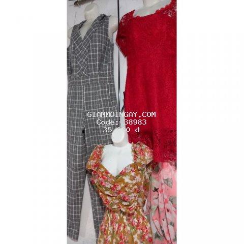 quần rin. áo sơmi. .áo kiểu . váy vóc các kiêu chỉ từ 15k