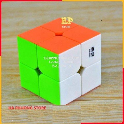 Rubik 2x2 Robik 2 xoay trơn, mượt, không kẹt, không rít
