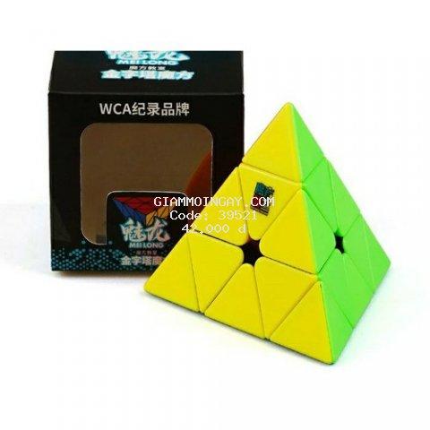 Rubik Pyraminx Stickerless - Rubik Tam Giác