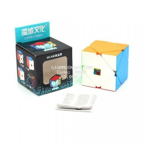 Rubik Skewb Stickerless , Rubik Biến Thể