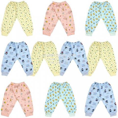Set gồm 10 quần dài In hình COTTON XỊN cho bé trai bé gái từ 2-15kg - quần áo - đồ cho trẻ sơ sinh , quần áo cho bé, quần dài cho trẻ sơ sinh
