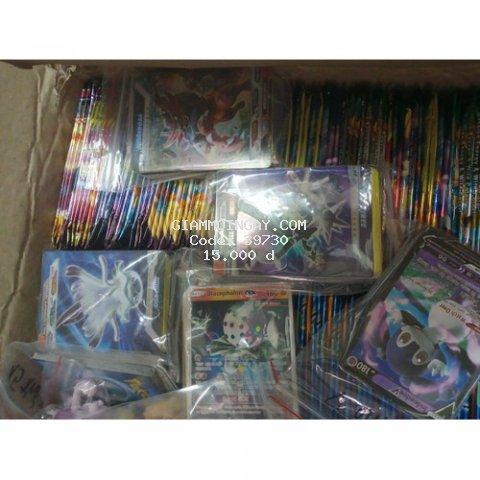Sỉ 50 thẻ bài pokemon