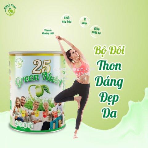 Sữa 25 loại hạt 25 Green Nutri