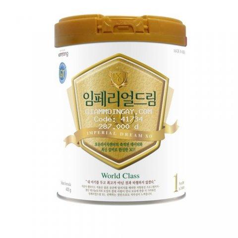 Sữa bột Xo 1- 400g, thương hiệu NamYang, Hàn Quốc. Dành cho trẻ từ 0 đến 3 tháng tuổi.Hạn SD 20 tháng...