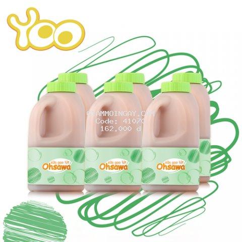 Sữa Gạo Lứt Oshawa Yoo - 6 chai x 568ml