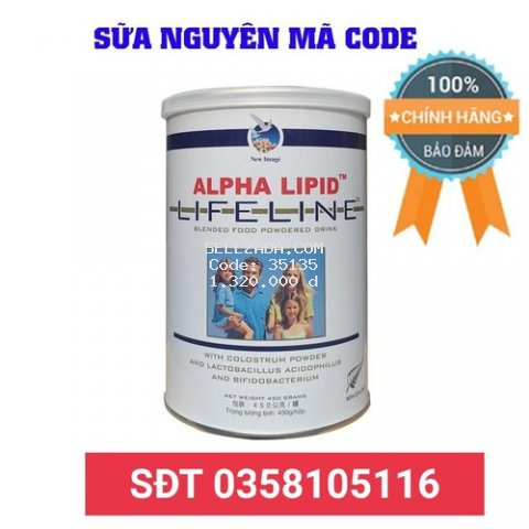 Sữa Non Alpha Lipid  450g Chính Hãng New Zealand