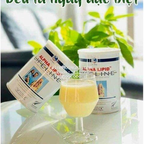 Sữa Non Anpha lipid 450g ( CHÍNH HÃNG) Xuất Xứ New Zealand