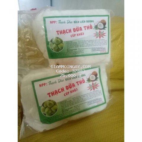 Thạch dừa thô bến tre