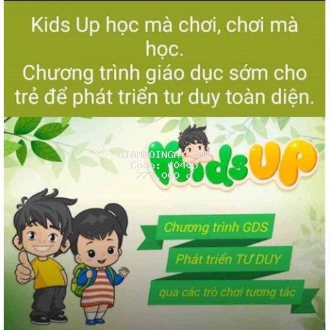 THẺ HỌC KIDSUP (KIDS UP) TRỌN ĐỜI