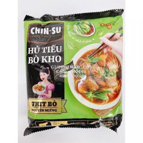 (Thùng 15 gói) Chinsu Hủ tiếu bò kho gói