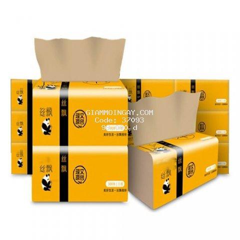 Thùng giấy ăn gấu trúc Sipiao (30 gói)