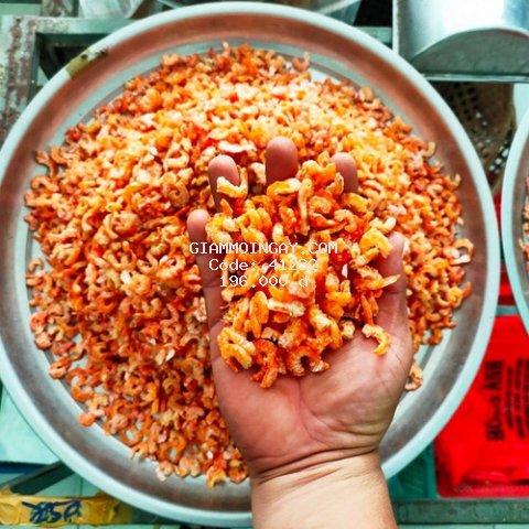 Tôm khô Cà Mau 250g hút chân không, ngon tuyệt, rất vừa ăn, chất lượng, giá yêu thương (tép bạc)