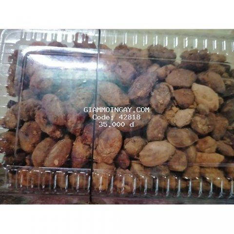 trái say rừng lột vỏ kèm muối  mực tây bắc,giá 35k 200g rất tiện lợi để ăn vặt ăn kiêng vị chua ngọt