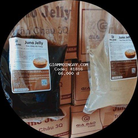 Trân châu 3q, trân châu 3q Juno Jelly, thạch 3q, nguyên liệu trà sữa thạch 3q