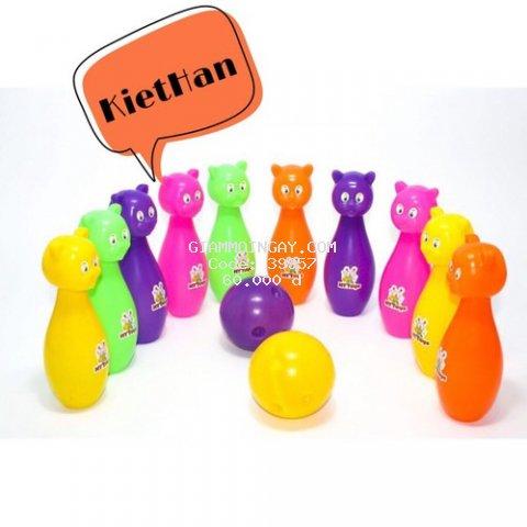 Túi lưới đồ chơi Bowling 10 ky mèo