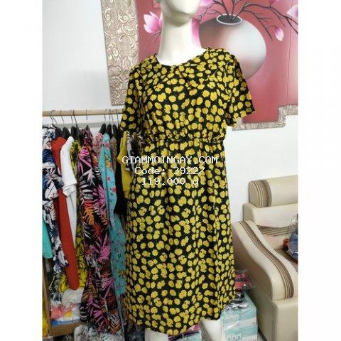 Váy công sở hoa nhí siêu yêu