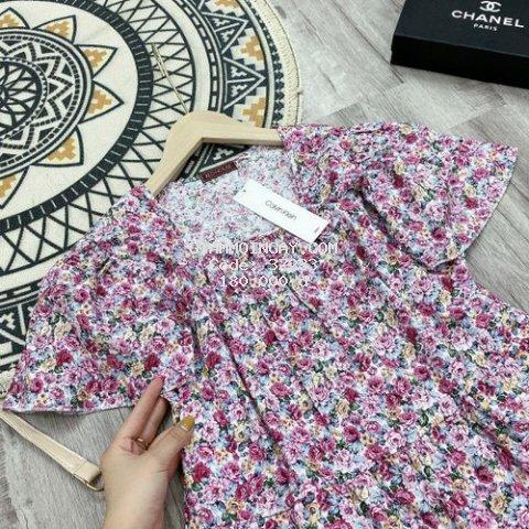 Váy hoa nhí dáng babydoll siêu sjnn
