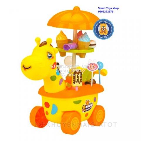 Vỉ đồ chơi xe đẩy kem