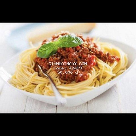 Vietnamese [ voucher ] phiếu quà tặng 01 Spaghetti