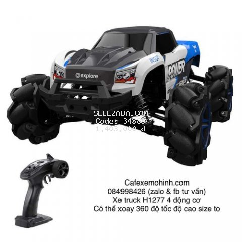 Xe điều khiển H1277 size to 4 động cơ vượt đa địa hình tốc độ cao