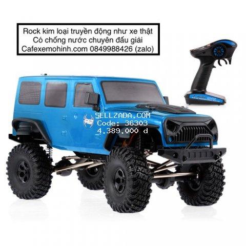 Xe điều khiển Rock RGT Ex86100 xe siêu to chống nước vượt địa hình